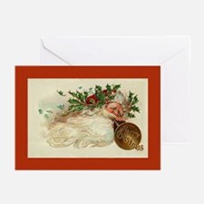 Santa Wind Greeting Cards (Pk of 10)