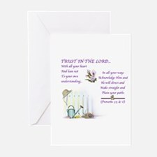 Trust In The Lord3 Greeting Cards#2 (Pk of 10)