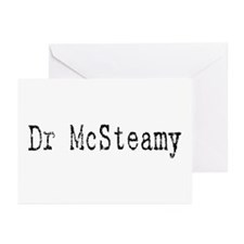 Dr. McSteamy Greeting Cards (Pk of 10)