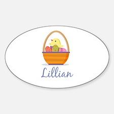 Easter Basket Lillian Decal