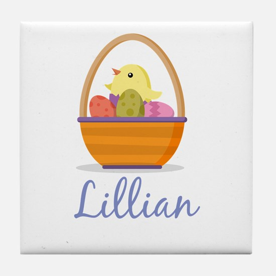 Easter Basket Lillian Tile Coaster