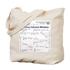 Common Calculus Mistakes Tote Bag