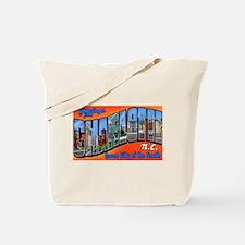 Charlotte North Carolina Greetings Tote Bag