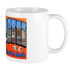 Charlotte North Carolina Greetings Mug