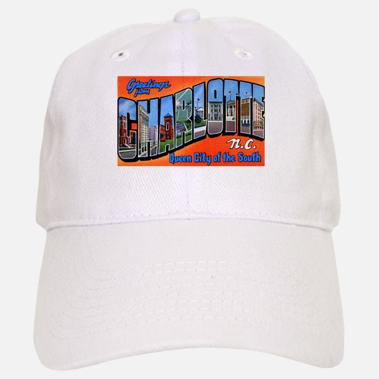 Charlotte North Carolina Greetings Cap