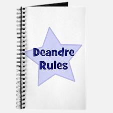Deandre Rules Journal