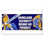 Homeland InSecurity Sticker (Small)