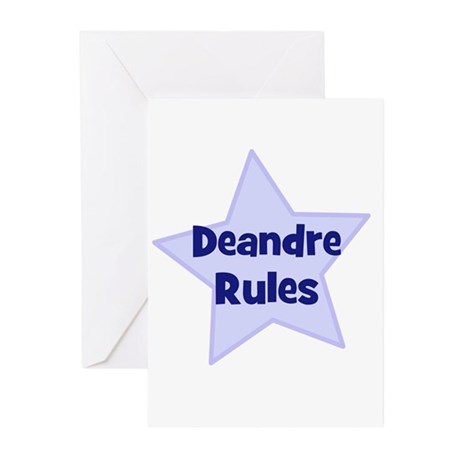 Deandre Rules Greeting Cards (Pk of 10)