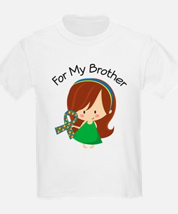 Autism For My Brother T-Shirt