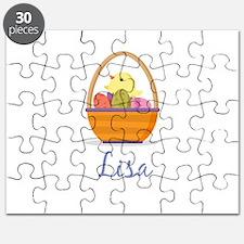 Easter Basket Lisa Puzzle