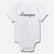 Vintage Manager Infant Bodysuit