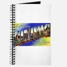 Chattanooga Tennessee Greetings Journal