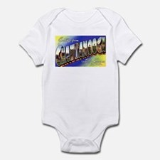 Chattanooga Tennessee Greetings Infant Bodysuit