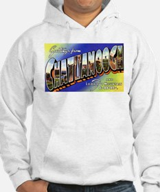 Chattanooga Tennessee Greetings (Front) Hoodie
