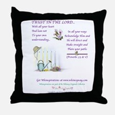 Trust In The Lord3 Throw Pillow