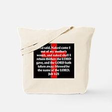 Job 1-21 Tote Bag