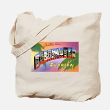 Clearwater Florida Greetings Tote Bag