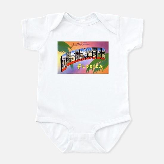Clearwater Florida Greetings Infant Bodysuit