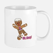 Oh Snap Gingerbread Cookie Mug