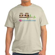 Owl 33rd Anniversary T-Shirt