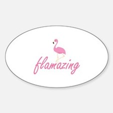 Flamazing Sticker (Oval)