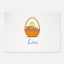 Easter Basket Lou 5'x7'Area Rug