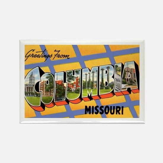 Columbia Missouri Greetings Rectangle Magnet