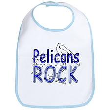 Pelicans Rock Bib