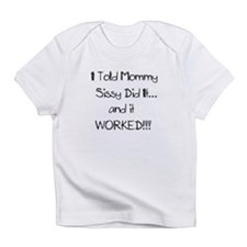 Cool Sissy boys Infant T-Shirt