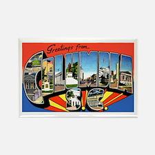 Columbia South Carolina Greetings Rectangle Magnet