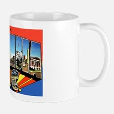 Columbia South Carolina Greetings Mug