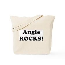 Angie Rocks! Tote Bag