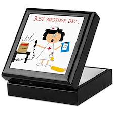 Stressed Out Nurse Keepsake Box