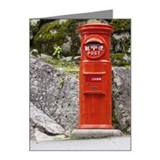 Post Box Note Cards (Pk of 20)