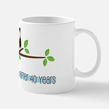 Owl 40th Anniversary Mug