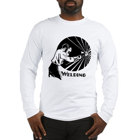 Retro Welder Long Sleeve T-Shirt