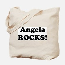Angela Rocks! Tote Bag