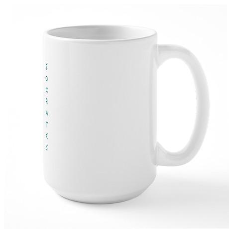 Eating - Large Mug