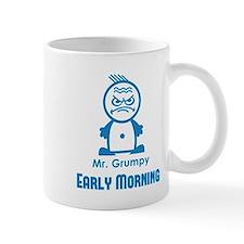 MR GRUMPY early morning moody angry face funny Mug