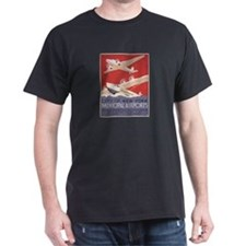 Retro Airplanes New York T-Shirt