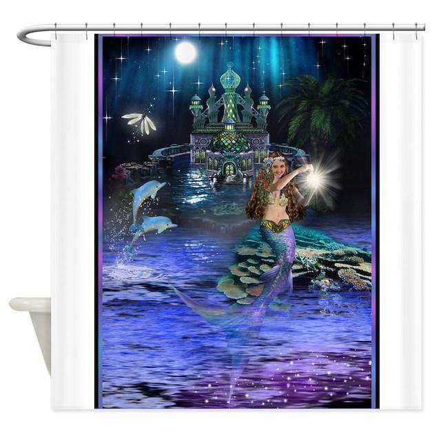 Best Seller Merrow Mermaid Shower Curtain By The Jersey