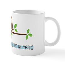 Owl 44th Anniversary Mug