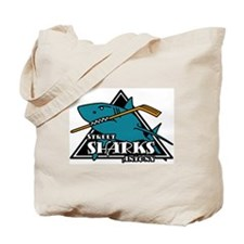 Cute Sharks hockey Tote Bag