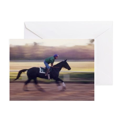 Early Morning Warm Up Greeting Cards (Pk of 10