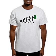 evolution of female teacher T-Shirt