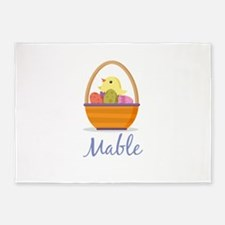 Easter Basket Mable 5'x7'Area Rug