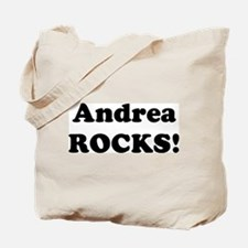 Andrea Rocks! Tote Bag