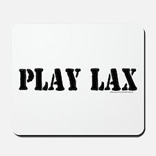 PLAY LAX Mousepad