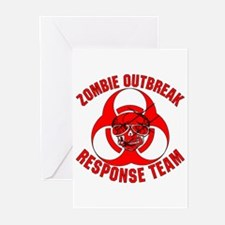 Zombie Response Team Greeting Cards (Pk of 20)