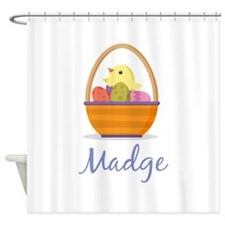 Easter Basket Madge Shower Curtain